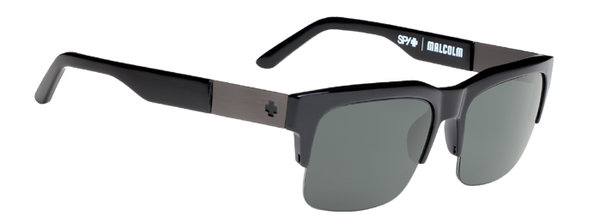 Sonnenbrille SPY Malcolm Black - Happy