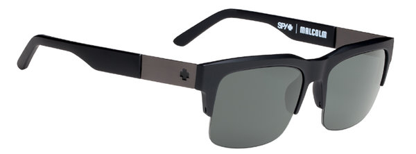 Sonnenbrille SPY Malcolm Matte Black - Happy