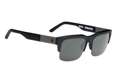 Sonnenbrille SPY Malcolm Soft Matte Black - Happy polar