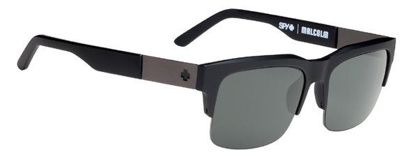 Sonnenbrille SPY Malcolm Soft Matte Black - Happy polar