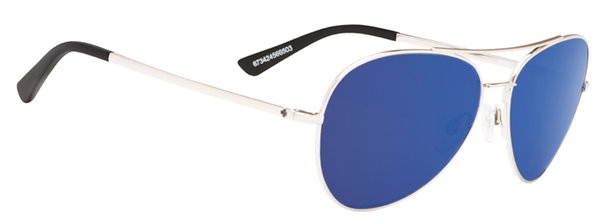 Sonnenbrille SPY WHISTLER Silver / Blue - happy