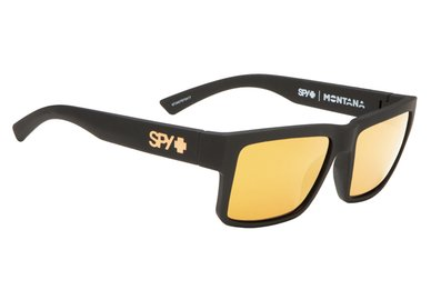 Sonnenbrille SPY MONTANA Mt.Black / Gold - Happy