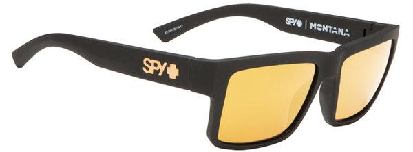 Sonnenbrille SPY MONTANA Mt.Black / Gold - Happy