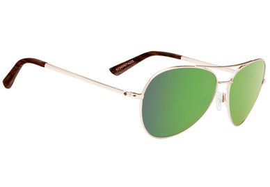Sonnenbrille SPY WHISTLER Gold / Green - happy
