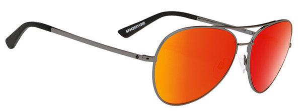 Sonnenbrille SPY WHISTLER Gunmetal / Red - happy