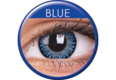 ColorVue 3 Tones - Blue (2 St. 3-Monatslinsen) – ohne Stärke