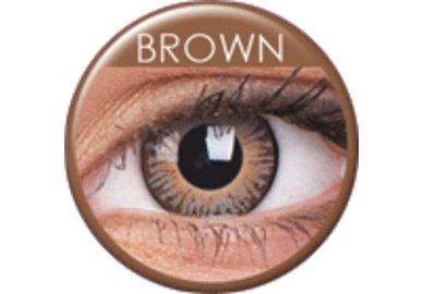 ColorVue 3 Tones - Brown (2 St. 3-Monatslinsen) – mit Stärke