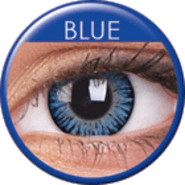 ColorVue 3 Tones - Blue (2 St. 3-Monatslinsen) – mit Stärke