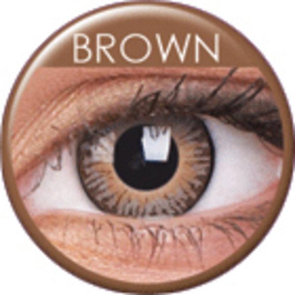 ColorVue 3 Tones - Brown (2 St. 3-Monatslinsen) – ohne Stärke