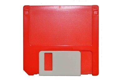 Etui - Set Diskette - rot