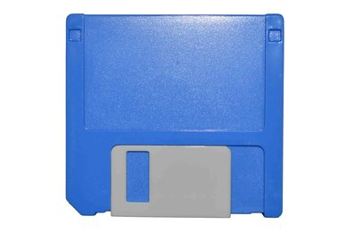 Etui - Set Diskette - blau