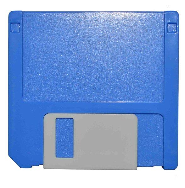 Etui - Set Diskette - blau