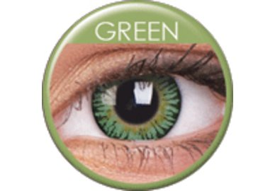 ColorVue 3 Tones - Green (2 St. 3-Monatslinsen) – ohne Stärke