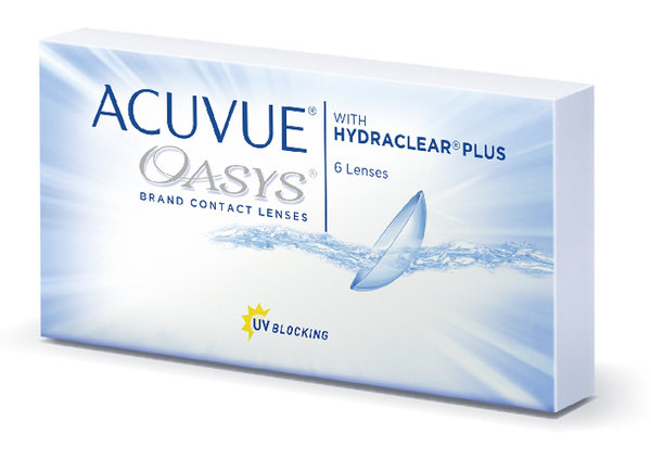 Acuvue Oasys with Hydraclear Plus (6 Linsen)