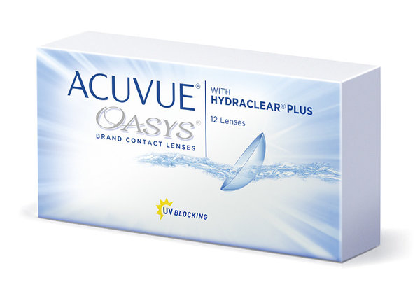 Acuvue Oasys with Hydraclear Plus (12 Linsen)