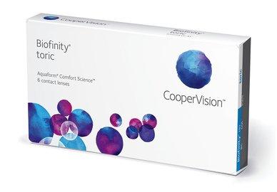 Biofinity Toric (6 Linsen)