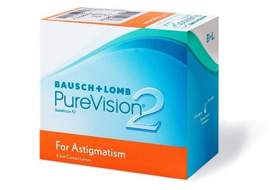 PureVision 2HD for Astigmatism (6 Linsen)