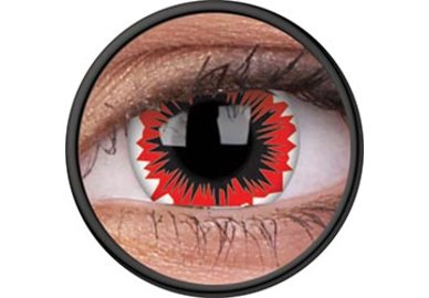 ColorVue Crazy Kontaktlinsen - Blaze (2 St. Jahreslinsen) – ohne Stärke