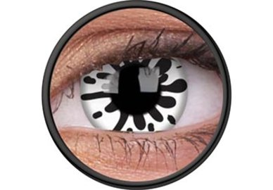 ColorVue Crazy Kontaktlinsen -  Blood Shadow (2 St. Jahreslinsen) – ohne Stärke