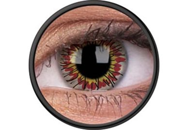 ColorVue Crazy Kontaktlinsen - Dire Wraiths (2 St. Jahreslinsen) – ohne Stärke