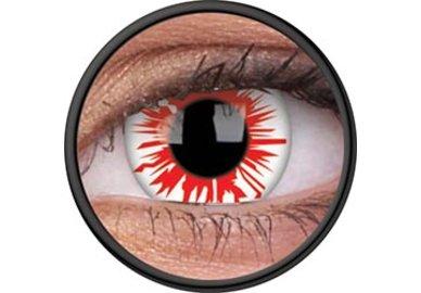 ColorVue Crazy Kontaktlinsen - Flashfire (2 St. Jahreslinsen) – ohne Stärke