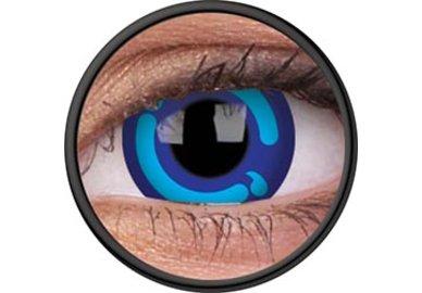 ColorVue Crazy Kontaktlinsen - Moon Princess (2 St. Jahreslinsen)) – ohne Stärke