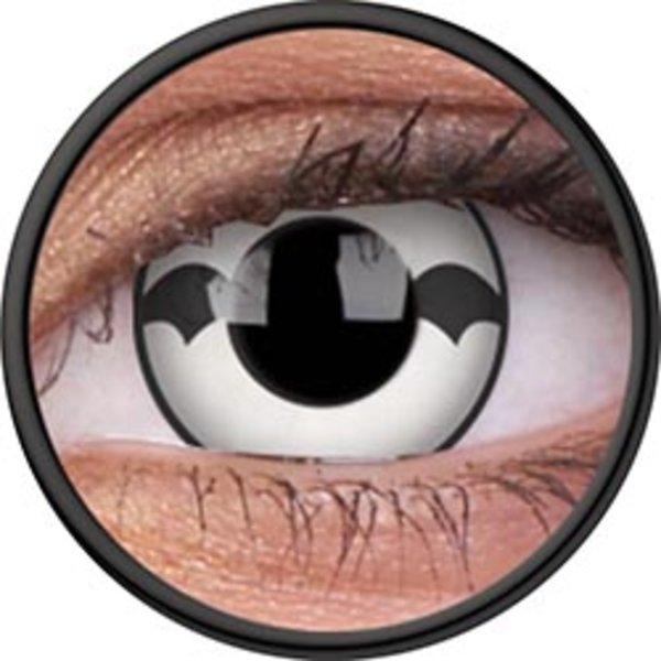 ColourVue Crazy Kontaktlinsen - Poltergeist (2 St. Jahreslinsen) – ohne Stärke