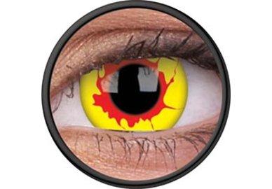 ColourVue Crazy Kontaktlinsen - Reignfire (2 St. Jahreslinsen) – ohne Stärke