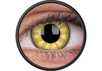 ColourVue Crazy Kontaktlinsen - Timekeeper (2 St. Jahreslinsen) – ohne Stärke
