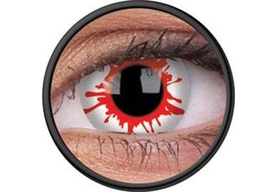 ColourVue Crazy Kontaktlinsen - Wild Blood (2 St. Jahreslinsen) – ohne Stärke