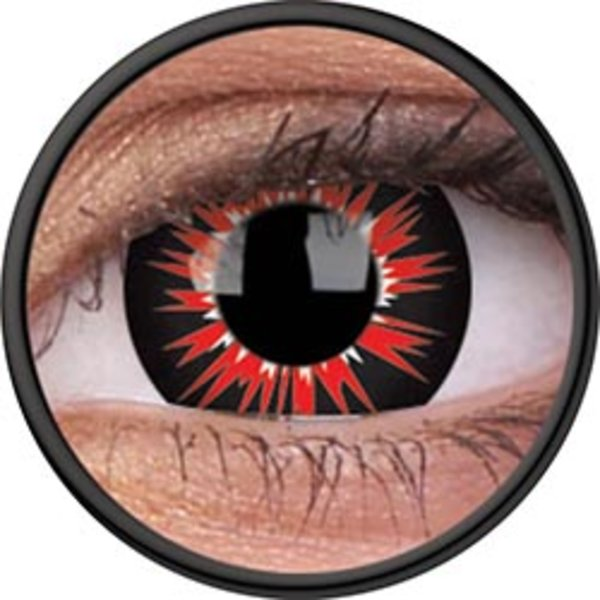 ColourVue Crazy Kontaktlinsen - Vorms (2 St. Jahreslinsen) – ohne Stärke