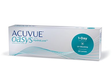 Acuvue Oasys 1-Day with HydraLuxe (6 Linsen)