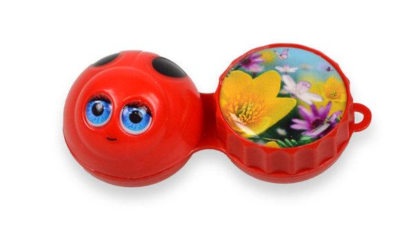 3D Behälter - Marienkäfer