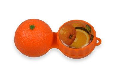 3D Behälter - Orange