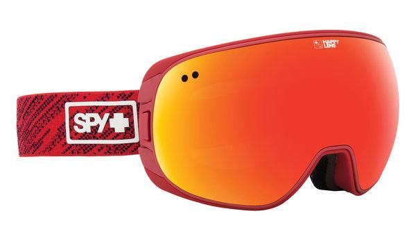 Skibrillen SPY DOOM Knit Red