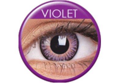 ColorVue 3 Tones - Violet (2 St. 3-Monatslinsen) – ohne Stärke