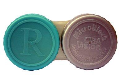 Antibakterieller Behälter für Sklerallinsen