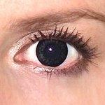 ColorVue Big Eyes - Dolly Black (2 St. 3-Monatslinsen) – mit Stärke