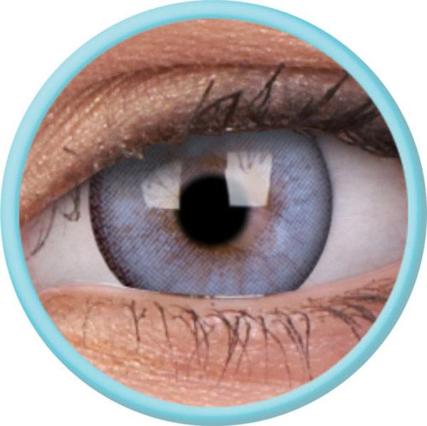 ColorVue Lumina - Radient Aqua (2 St. 3-Monatlinsen) - ohne Stärke