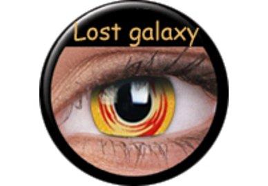 Phantasee Crazy Kontaktlinsen - Lost Galaxy (2 St. Jahreslinsen) – ohne Stärke - exp.02/2021
