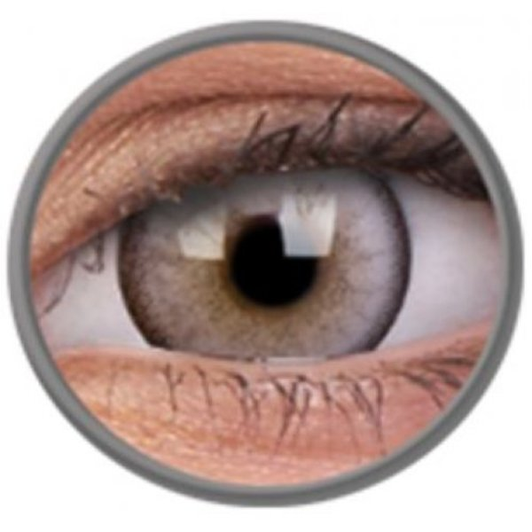 ColorVue Lumina - Glowing grey (2 St. 3-Monatlinsen) - ohne Stärke