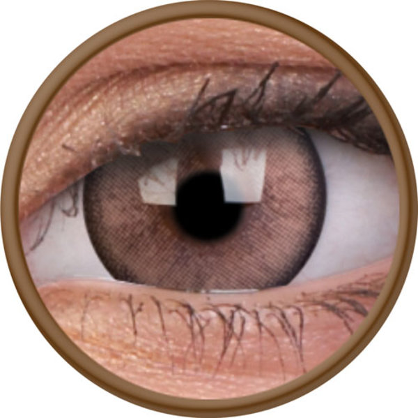 ColorVue Lumina - Shinning Brown (2 St. 3-Monatlinsen) - ohne Stärke