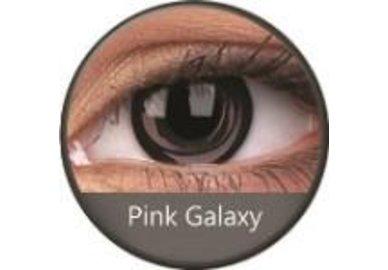 Phantasee Crazy Kontaktlinsen - Pink Galaxy (2 St. Jahreslinsen) – ohne Stärke - exp.02/2021