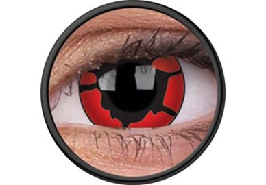 ColorVue Crazy-Kontaktlinsen - Nightcrawler (2 St. 3-Monatslinsen) – ohne Stärke
