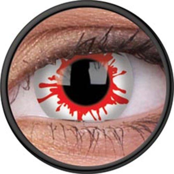 ColorVue Crazy-Kontaktlinsen - Wild Blood (2 St. 3-Monatslinsen) – ohne Stärke