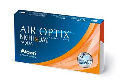 Air Optix Night & Day Aqua (6 Linsen)