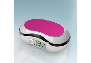 Digitaler Behälter - Weiß-Rosa