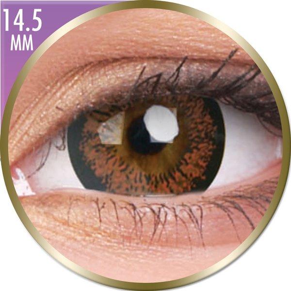 Phantasee Big Eyes - Angel Hazel (2 St. Monatslinsen) – mit Stärke