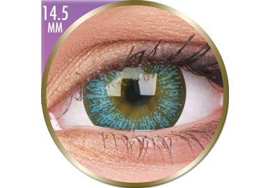 Phantasee Big Eyes - Maya Blue (2 St. Monatslinsen) – ohne Stärke