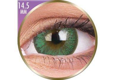 Phantasee Big Eyes - Paris Green (2 St. Monatslinsen) – mit Stärke - Ausverkauf